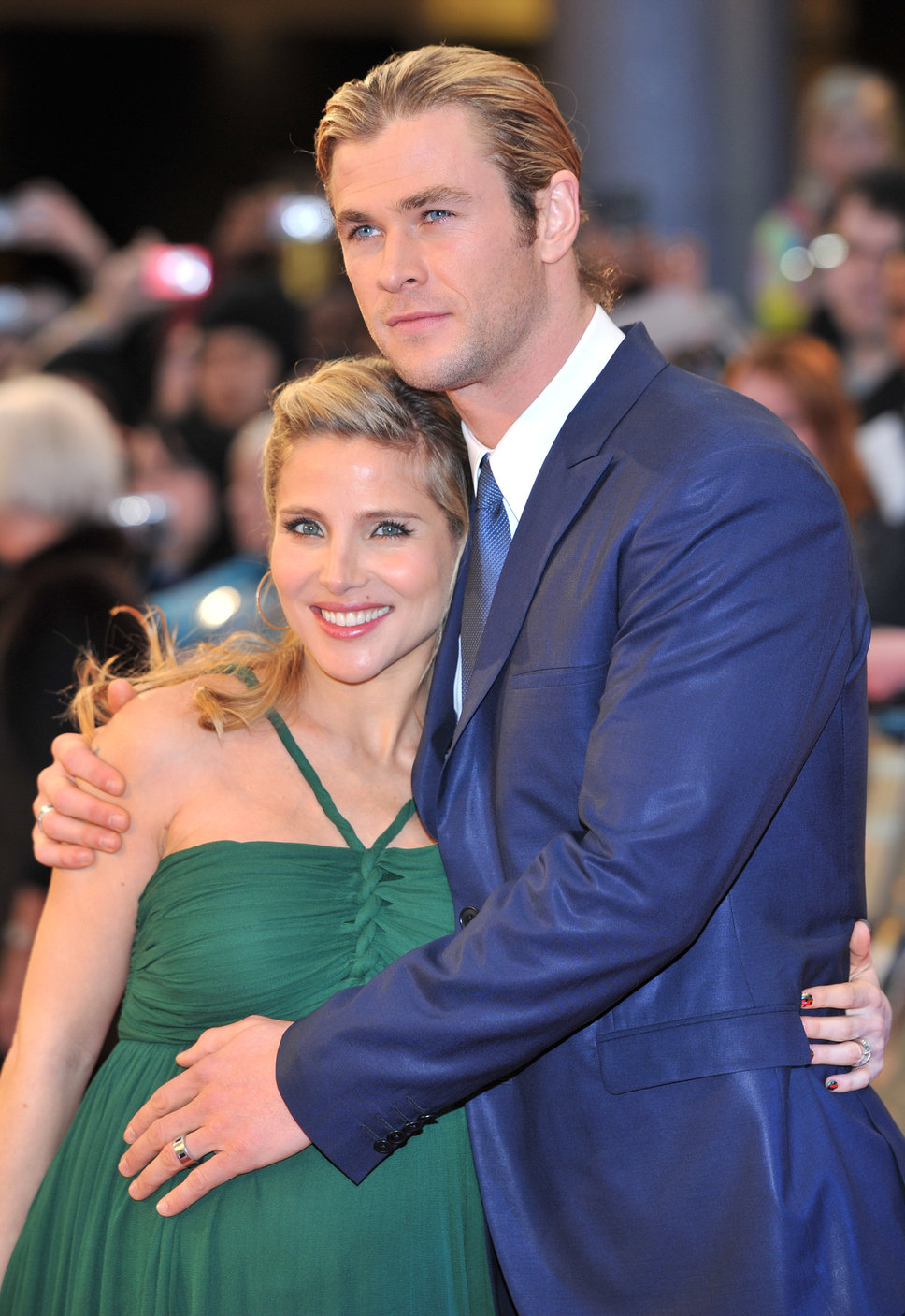 galatview � chris hemsworth and his wife elsa pataky have
