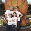 Odalys Ramirez, Patricio Borghetti  y Poncho Lizárraga visitaron Disneylandia en Anaheim