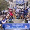 Peyton Manning visitó Disneylandia