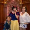 Alicia Machado, visitó el parque de Disneylandia